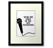5SOS Permanent Vacation Lyrics Framed Print