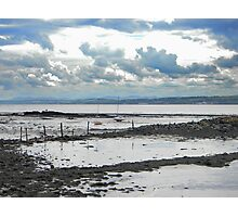 Low tide at Culross beach Photographic Print