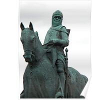 Robert The Bruce Memorial Statue Poster