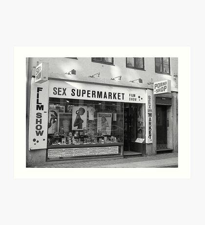Sex SuperMarket Art Print