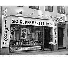 Sex SuperMarket Photographic Print