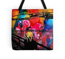 Nebula Scream Tote Bag