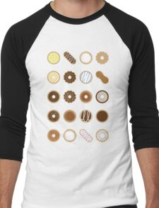 Donuts Men's Baseball ¾ T-Shirt