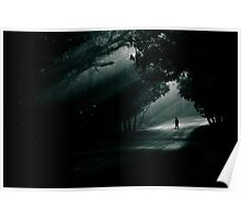 dark ahead! Poster