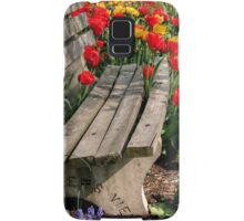 Abducted Park Bench Samsung Galaxy Case/Skin