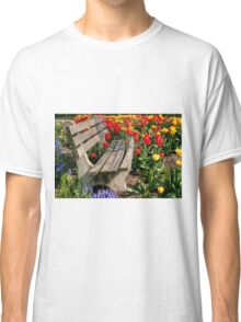 Abducted Park Bench Classic T-Shirt