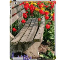 Abducted Park Bench iPad Case/Skin
