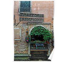 Trattoria Sempione v2 Poster