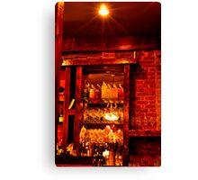 Sims Corner Steakhouse & Oyster Bar Canvas Print