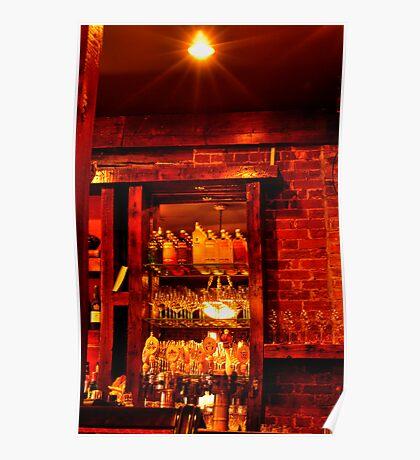 Sims Corner Steakhouse & Oyster Bar Poster