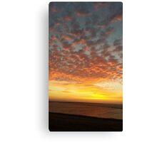 Bay Area Delta Sunset Canvas Print