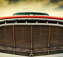 1960 Desoto Fireflite Coupe Grill by JonWoodhams