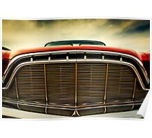 1960 Desoto Fireflite Coupe Grill Poster