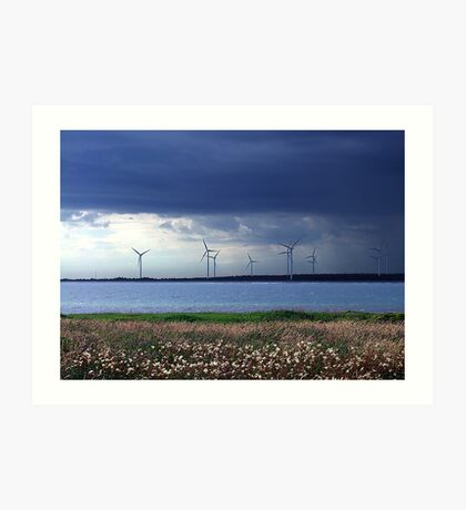 Power From The Wind Art Print