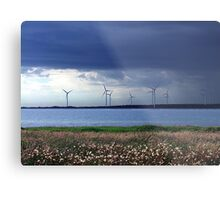 Power From The Wind Metal Print