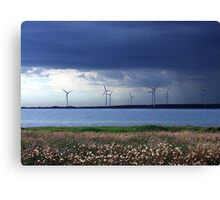 Power From The Wind Canvas Print