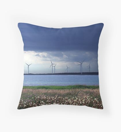 Power From The Wind Throw Pillow