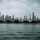 Chicago Skyline  by Margie Peters