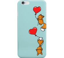 Playful Foxes iPhone Case/Skin