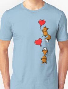 Playful Foxes Unisex T-Shirt