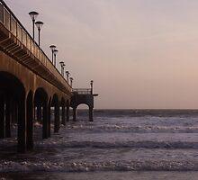 Boscombe pier by Jennifer Bradford