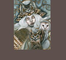 Owl Harpy Womens Fitted T-Shirt