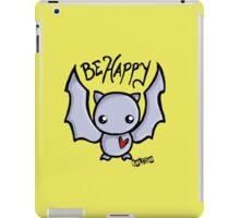 Be Happy Batty iPad Case/Skin