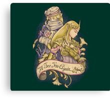 Link&Zelda love Canvas Print