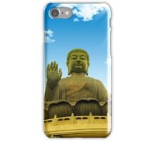 Hong Kong golden grand buddha  iPhone Case/Skin