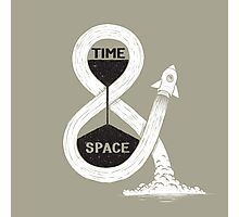 Time & Space Photographic Print