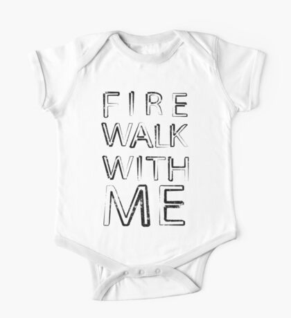 FIRE WALK WITH ME One Piece - Short Sleeve