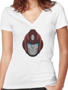 G1 Rodimus Prime Women's Fitted V-Neck T-Shirt