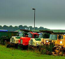 Trucks..... by Dirk van Laar