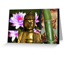 lotus dacer zen  Greeting Card