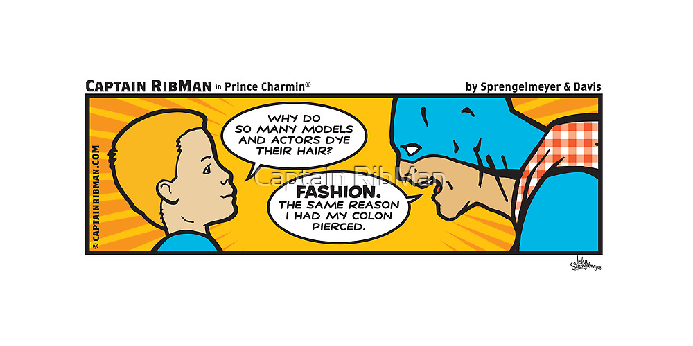 Prince Charmin® - Captain RibMan by Captain RibMan