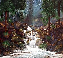 Clearwater Falls by Diane Schuster