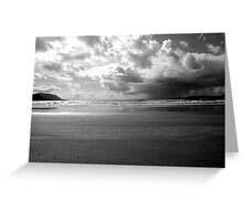 Storm in Dingle Bay, Kerry, Ireland Greeting Card