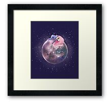 Lost in a Space / Callistori Framed Print
