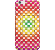 Colorful checktered pattern iPhone Case/Skin