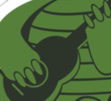 Guitar Turtle Sticker