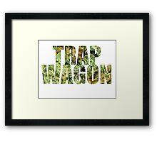 Trap Wagon Kush Framed Print