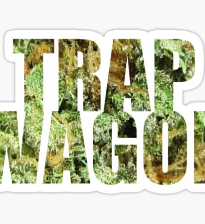 Trap Wagon Kush Sticker