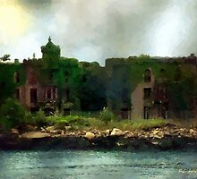 Storm Clouds over Old New York by RC deWinter