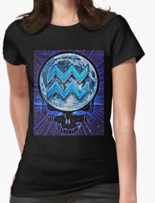 Aquarian Blue Moon Womens Fitted T-Shirt