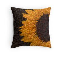 sun.flower Throw Pillow