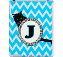 J Cat Chevron Monogram iPad Case/Skin