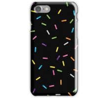 Sprinkles Jimmies Dessert Pattern iPhone Case/Skin