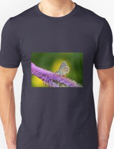 Silver-studded Blue Butterfly Unisex T-Shirt