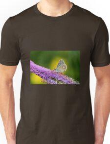 Silver-studded Blue Butterfly Unisex T-Shirt