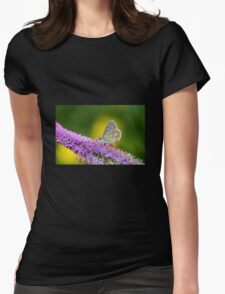 Silver-studded Blue Butterfly T-Shirt